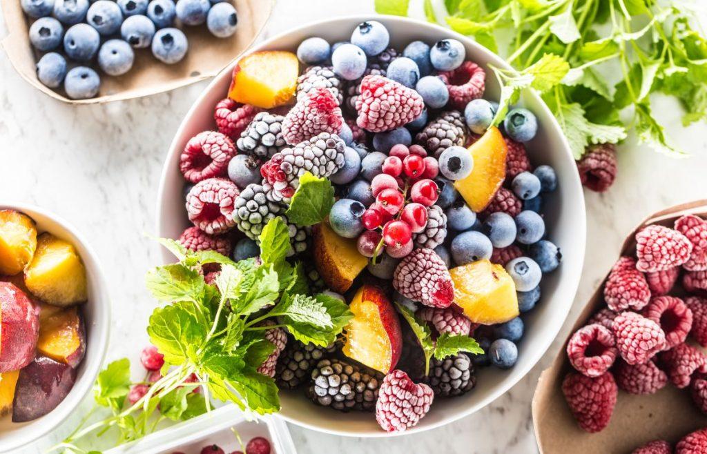 Mrożenie owoców