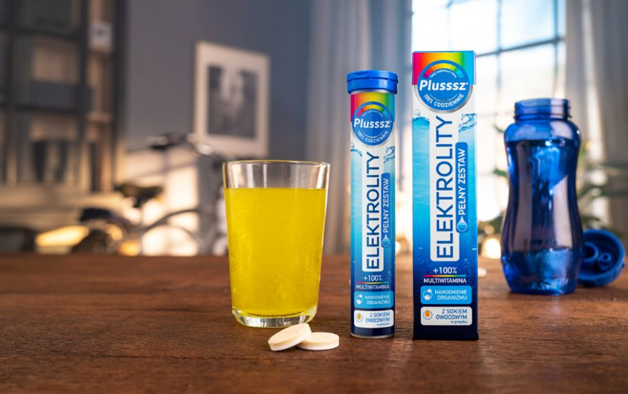 Elektrolity Plusssz - prawidłowe nawodnienie