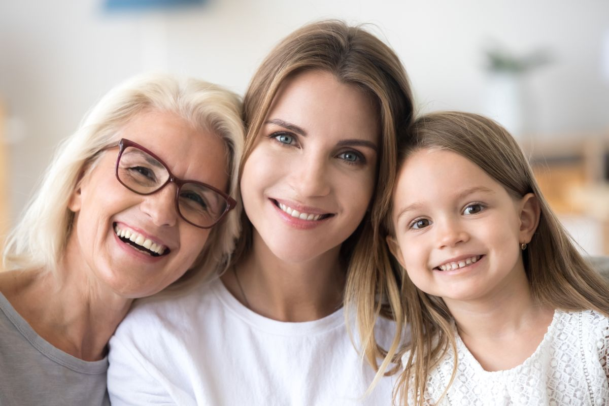 zdrowa iszczęśliwa rodzina